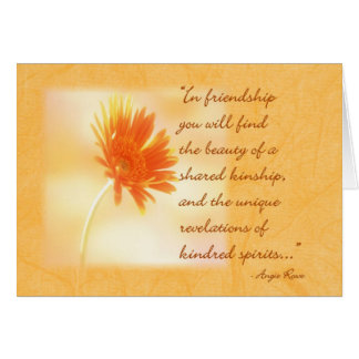 Friendship Note Card