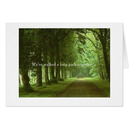 Friendship, Path Card
