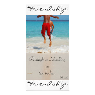 Friendship Photo Greeting Card