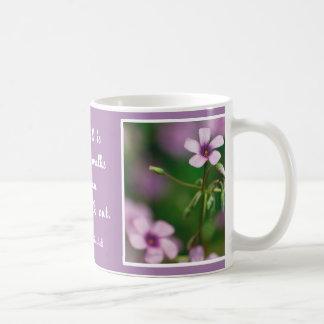 Friendship - Pink Wood Sorrel Mug