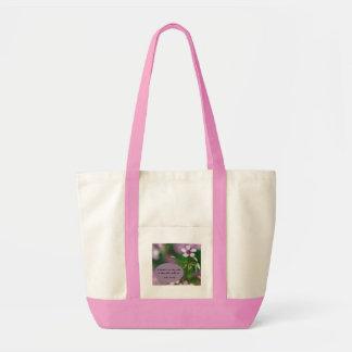 Friendship - Pink Wood Sorrel Tote Bag