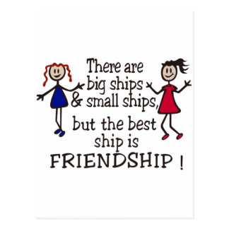 Friendship Postcard