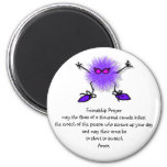 Friendship Prayer 6 Cm Round Magnet