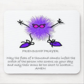 Friendship Prayer Mouse Pad