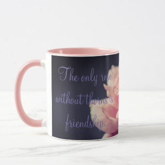 Friendship Rose Mug