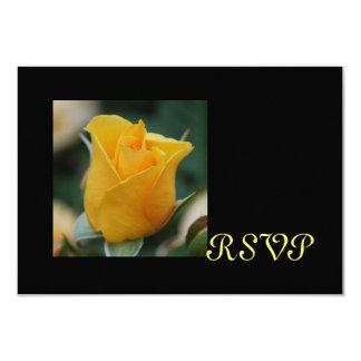 Friendship Rose RSVP cards 9 Cm X 13 Cm Invitation Card