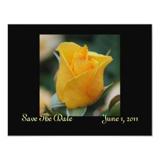 Friendship Rose Save The Date Cards 11 Cm X 14 Cm Invitation Card