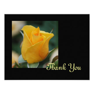 Friendship Rose Thank You Card Announcements