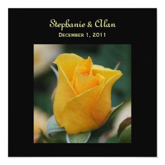 Friendship Rose Wedding Invitations