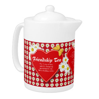Friendship Tea Recipe Teapots