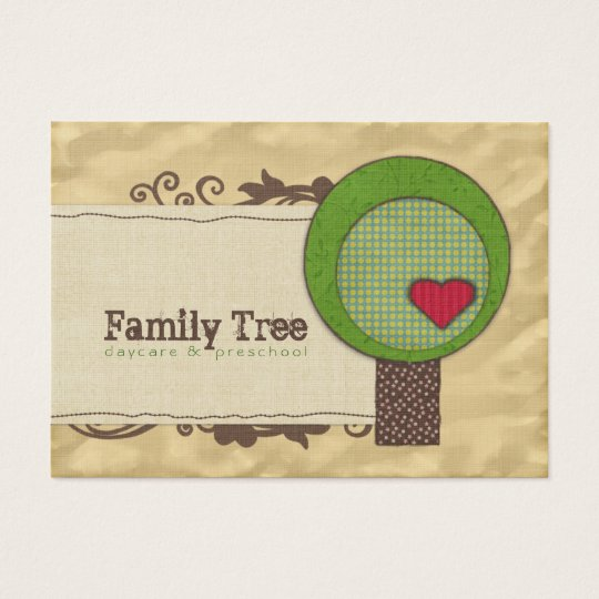 Friendship Tree Chubby Business Cards