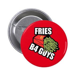 Fries Before Guys 6 Cm Round Badge