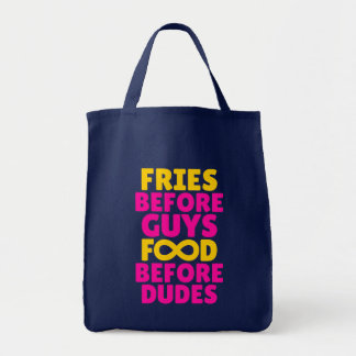 Fries Before Guys Food Before Dudes Infinity Tote
