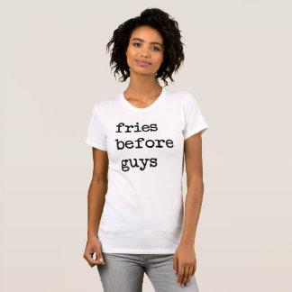 Fries Before Guys T-Shirt Tumblr