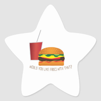Fries with That Stickers