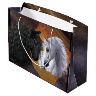 Friesian & Arabian Gift Bag - Large/ Glossy