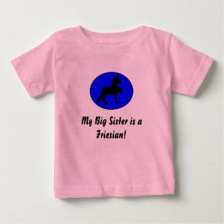 Friesian Big Sister Baby T-Shirt