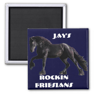 Friesian Classic Square Magnet