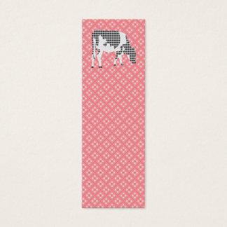 Friesian cow, Friese koe Mini Business Card