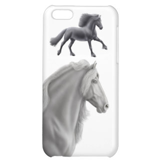 Friesian Draft Horse iPhone Case iPhone 5C Cover
