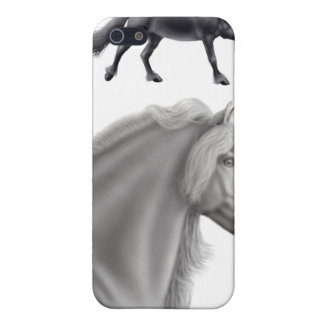 Friesian Draft Horse Speck Case iPhone 5/5S Case