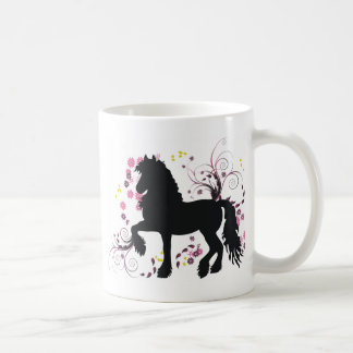 Friesian Horse Basic White Mug