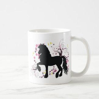 Friesian Horse Coffee Mug