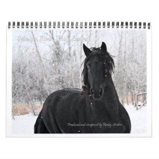 Friesian Horse Photo standard size Calendars