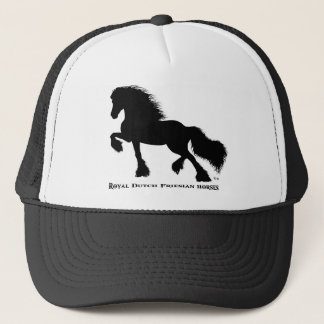Friesian Horse Trucker Hat