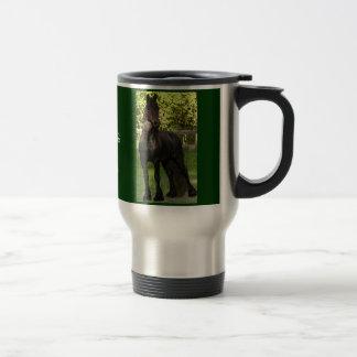 Friesian Painting 15 Oz Stainless Steel Travel Mug