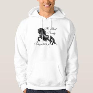 Friesians, black letter hoodie