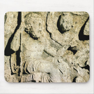 Frieze depicting King Priam and Hecuba Mouse Mat