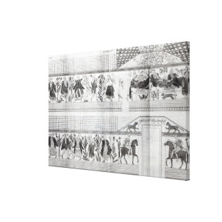 Frieze from the Grotta del Triclinio Canvas Print