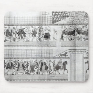 Frieze from the Grotta del Triclinio Mouse Pad