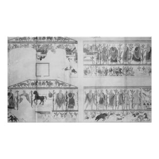 Frieze from the Grotto della Querciola Poster