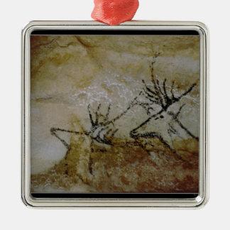 Frieze of deer, c.17000 BC Christmas Ornament