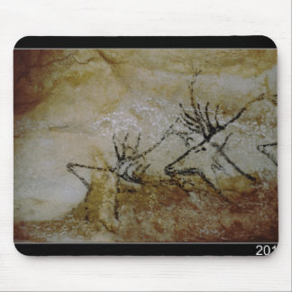 Frieze of deer, c.17000 BC Mouse Pad
