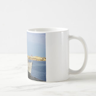 Frigate in Malta. Coffee Mug