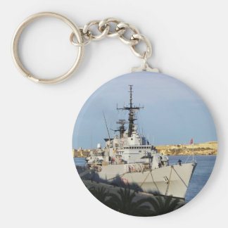 Frigate in Malta. Key Ring
