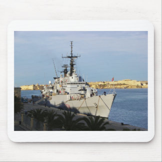 Frigate in Malta. Mouse Mat