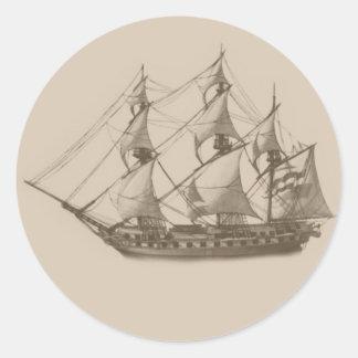 Frigate sticker