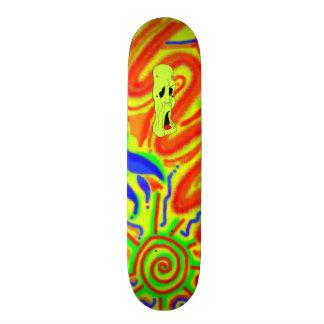 Fright Fest Cartoon Ghoul skateboard