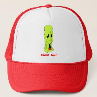 Fright Fest Cartoon Ghoul Trucker Hat