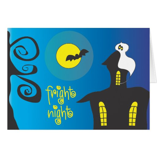 Fright Night Greeting Cards