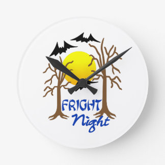 Fright Night Wall Clocks