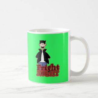Fright Night Dracula Halloween Coffee Mugs