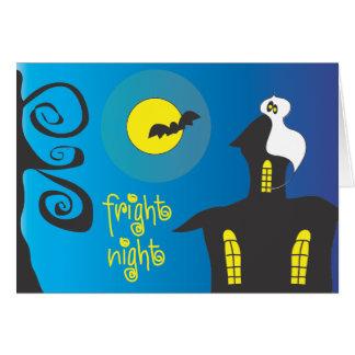 Fright Night Greeting Card