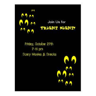 Fright Night Invite! Postcard