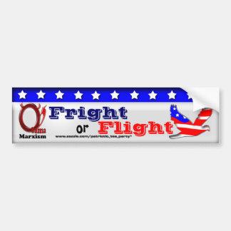 Fright or Flight Car Bumper Sticker