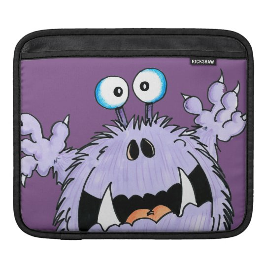 Frightened Fred ipad sleeve